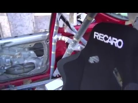 Project RED: VLog # 013 - roll bar, radiator and tires.