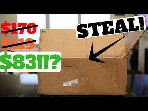 Unboxing: CRAZY STEAL on These Shoes!