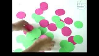 Мастер-класс: гирлянда из бумаги