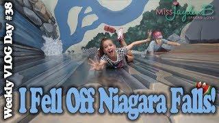 I FELL OFF NIAGARA FALLS?!?! Vlog Day #39 || Jayden Bartels