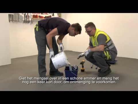 Hoe breng je een epoxy vloer coating aan? - Weber