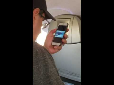 Guy watching 9/11 video on my flight before takeoff