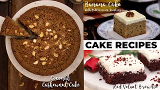 3 Unique Cake Recipes | Cake Recipes