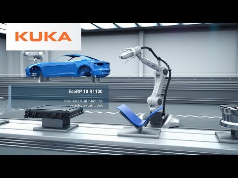Dürr & KUKA Launch ready2_spray Paint Robot for General Industry