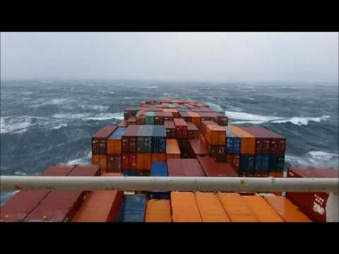 "Atlantic ocean 2017 ,    ""ZIM QINGDAO"""