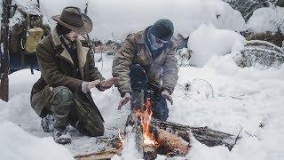 Cedar Tea on a Siberian Log Fire - A Day in the Wilderness