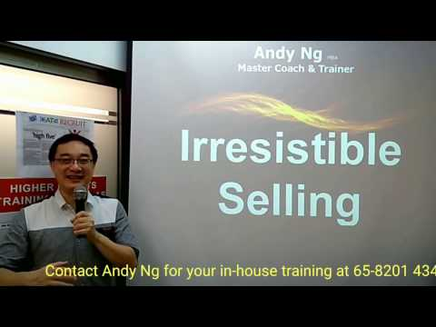 Irresistible Selling: creative way that closes the sale automatically
