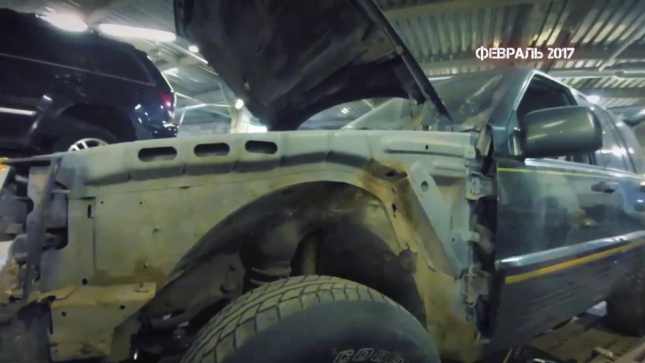 Grand Cherokee ZJ 5,2. 3 серия. Процесс идет.