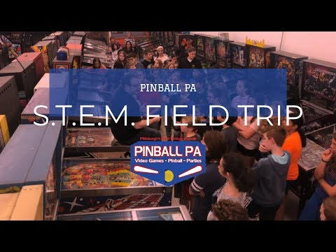 Field Trip with Haine Middle School at Pinball PA 5/9/19
