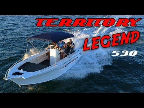 Territory Legend 530 + Yamaha F115hp 4-Stroke boat review | Brisbane Yamaha