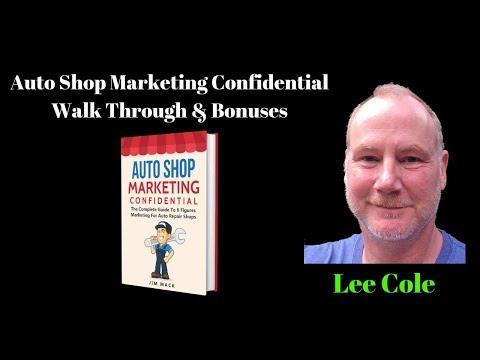 Auto Shop Marketing Confidential -- Local Business Marketing thumbnail