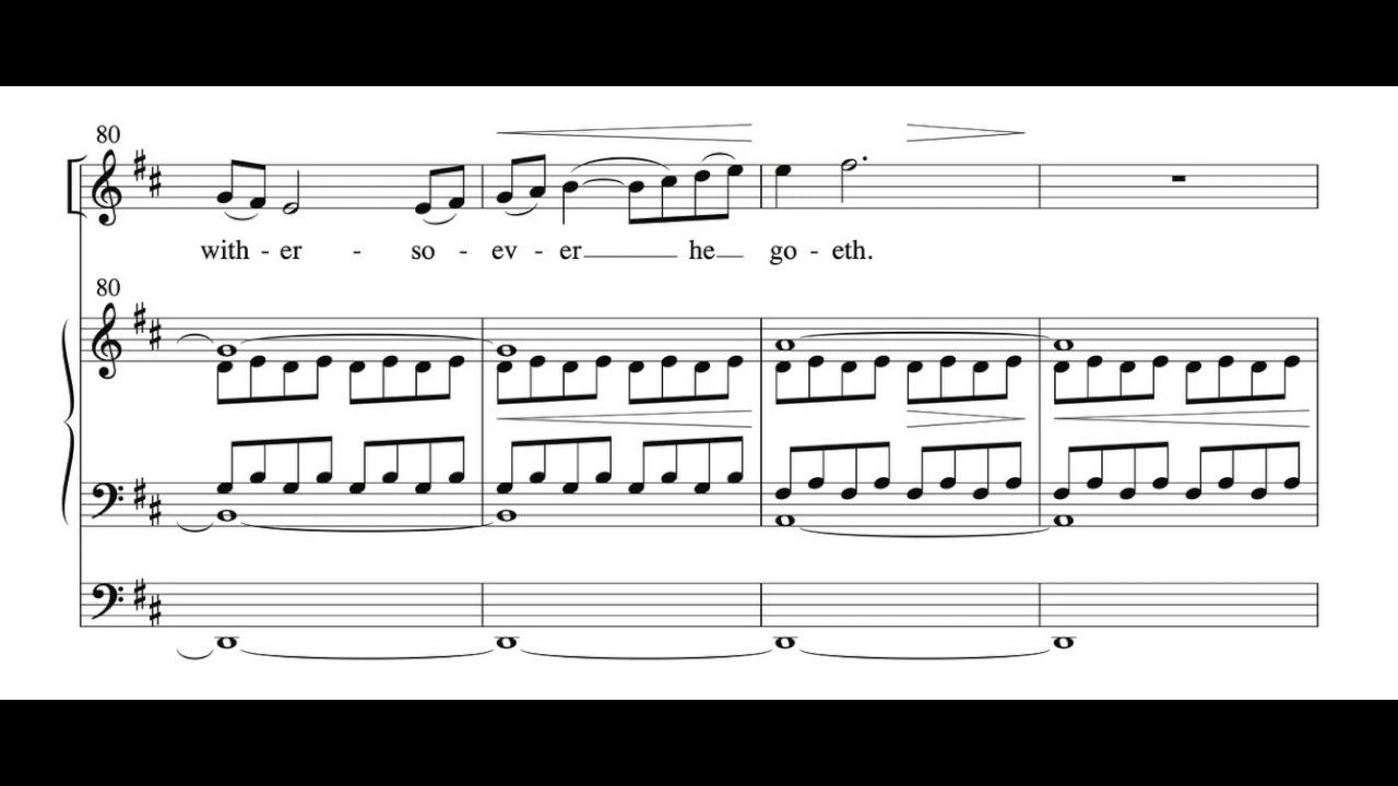 Download O How Glorious, Stopford Score