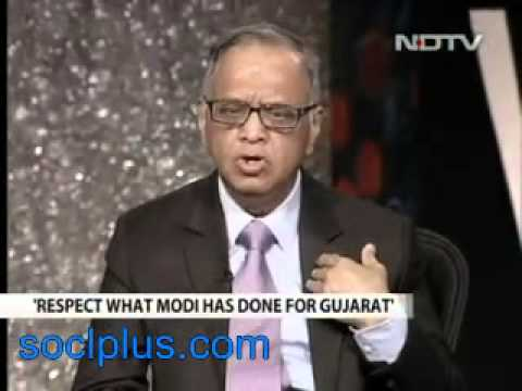 Gujarat riots not an issue that should keep Modi from becoming PM_ Narayana Murthy