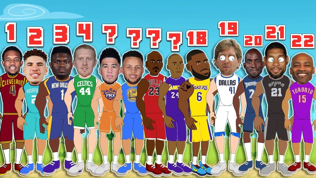 Download Best NBA Player based on the Number of Seasons Played! (NBA Comparison Animation)