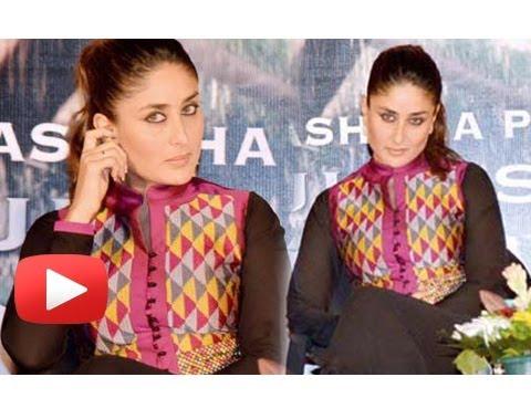 Kareena Kapoor Takes A Dig At The Media - Satyagraha Song Launch
