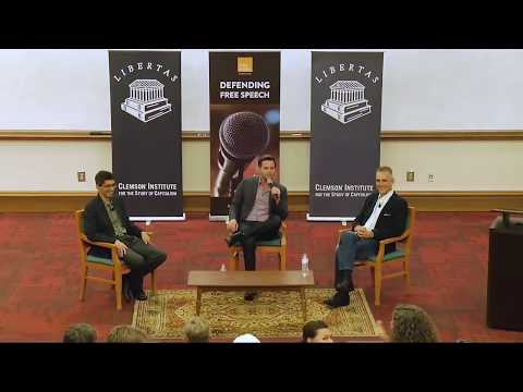 GOOD AUDIO! Jordan Peterson, Dave Rubin, Onkar Ghate at Clemson University