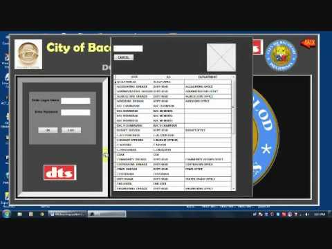 PROCUREMENT DOCUMENT TRACKING SYSTEM 1/3