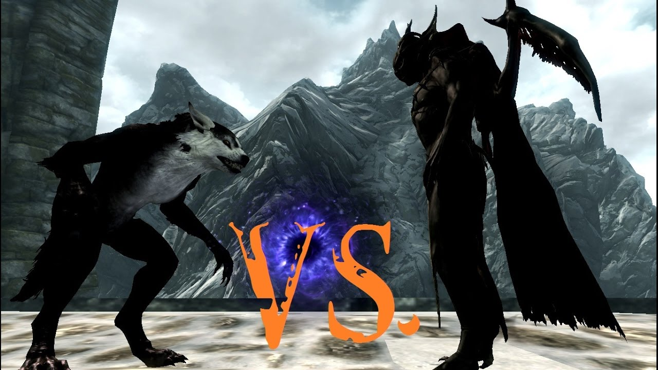 Vampir Vs Werwolf