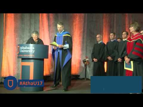 Athabasca University's 2017 Convocation - Day 3