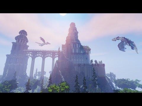 Dragon Palace - Minecraft Timelapse [Speed Build]