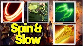 Spinning & Killing[Blade Fury + Windrun] || Ability Draft || Dota 2