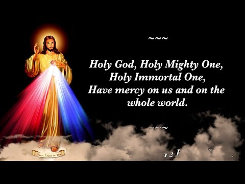 DIVINE MERCY CHAPLET, IN OUR HOLY HOUR FOR OUR PRODIGAL CHILDREN