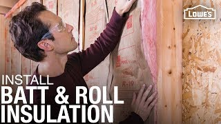 How to Install Bątt and Roll Insulation