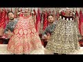 Famous Designer Lehenga In Retail  2018-2019 | Kundan, Zari, Nakshi, Swarovski Work Bridal lehenga