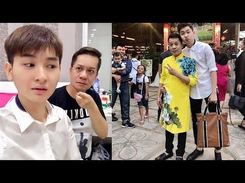 Lộ diện con trai độc nhất 17 tuổi đẹp như hot boy của danh hài Minh Nhí