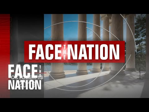 """Open: This is """"Face the Nation"""" October 13"""