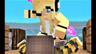 NEW Minecraft Song Hacker 6 - Psycho Girl VS Hacker! Minecraft Animations and Music Video Series
