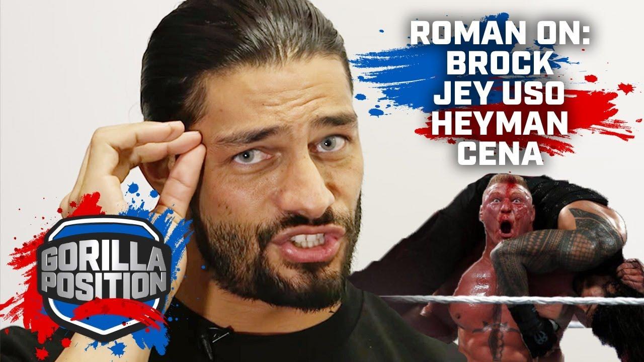 Roman Reigns: On fighting Brock Lesnar, Paul Heyman, Jey Uso & surpassing John Cena