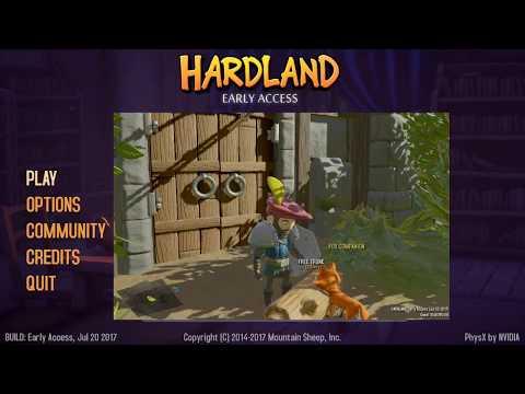 Hardland - RPG песочница с квазиоткрытым миром - #1 часть