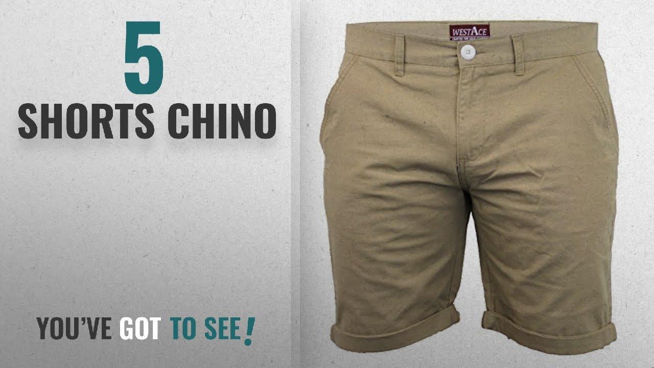 fd982b9bdc Top 10 Shorts Chino [2018]: Mens Chino Shorts By Threadbare - YouTube