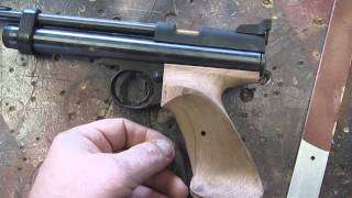 Rosewood Target Grips Crosman 2240