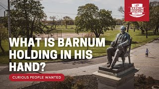 The Barnum Bust and Statue at Seaside Park