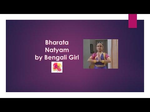 Bharatanatyam dance ll Bengali Girl