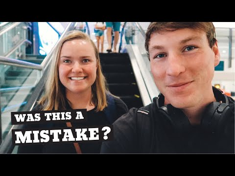 Our SCARY Last Flight In Australia | Sydney Airport