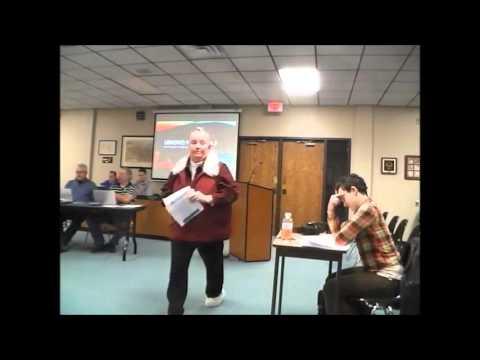 Little Falls Mn city council wk sess 2 1 16