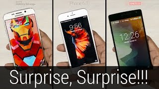 iPhone 6S vs Galaxy S6 vs OnePlus 2   Fingerprint Scanner Comparison