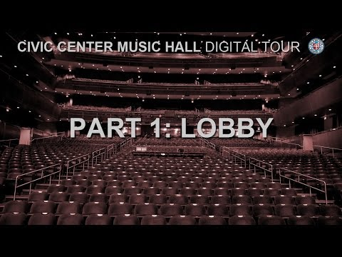 Civic Center Music Hall - Lobby