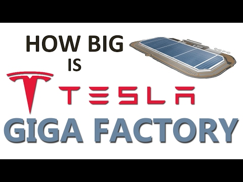 How Big is Tesla Giga Factory? | Future Biggest Building