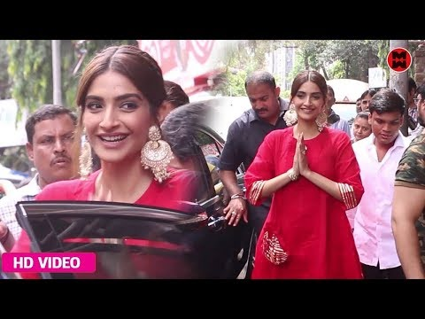 Sonam Kapoor Visit The Shani Temple For Her Upcoming Movie The Zoya Factor  |  2019 Mp3