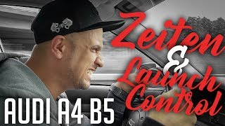 JP Performance - Audi A4 B5 Zeiten & Launch Control