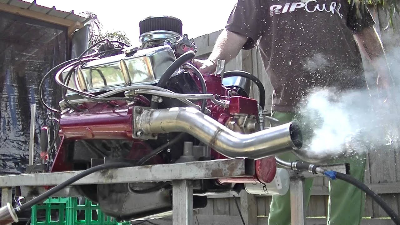 First Time Startup Holden 308 Engine Rebuild