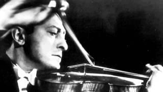 Jascha Heifetz - Debussy Waltz 'La plus que lente' 1946