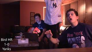 Yankees Fan Reaction - Yankees Indians Game 3 ALDS