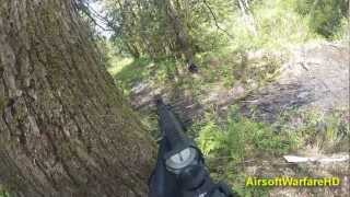 Using the D-Boys SCAR-H at the Washington Airsoft field! Facebook: ...