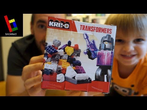 OUR FIRST (AND LAST?) KRE-O SET!