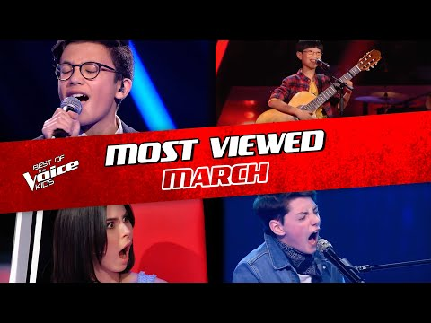 TOP 10 | The Voice Kids: TRENDING IN MARCH 2020